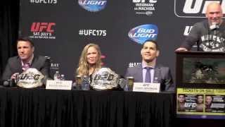Chael Sonnen Gets a Serenade, Ronda Rousey Gets Hit On