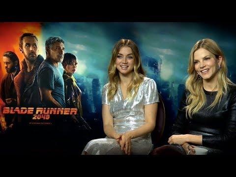 Blade Runner 2049  Ana de Armas and Sylvia Hoeks