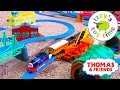 Thomas And Friends   Thomas Train Huge Tomy Trackmaster Track! Fun Toy Trains For Kids And Children video