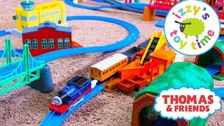 Thomas and Friends | Thomas Train HUGE TOMY TRACKMASTER TRACK! Fun Toy Trains  and Children