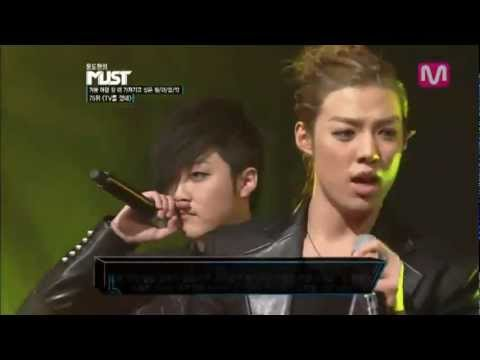 [Live] M.I.B - Turned off the TV (TV를 껐네) @ Yoon Do Hyun's Must