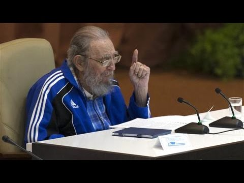 Ailing Fidel Castro Gives Rare Speech