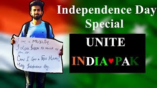 A Muslim Guy get Hugs in India | Independence Day 2017 | Social Experiment |2017 | Humour Mud |Peace