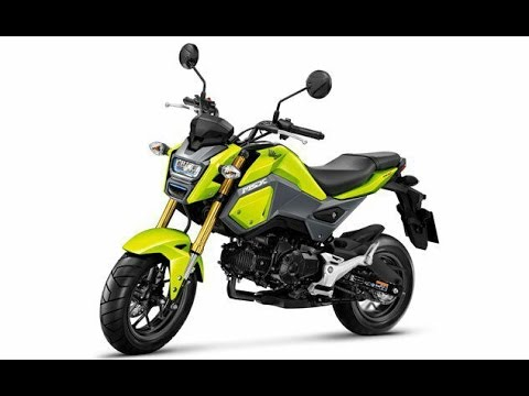 Honda Grom_With a wheelbase measuring under four feet and a 225-pound curb weight