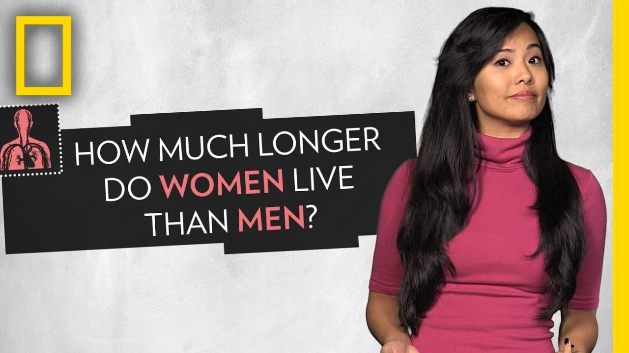 Why do women live longer than