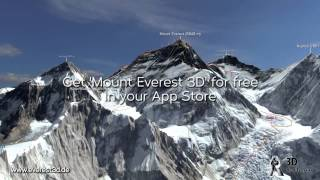 "App ""Mount Everest 3D"" by 3D Realitymaps"