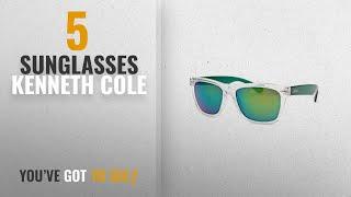 Top 10 Sunglasses Kenneth Cole [2018]: Kenneth Cole Gradient Wayfarer Unisex Sunglasses -