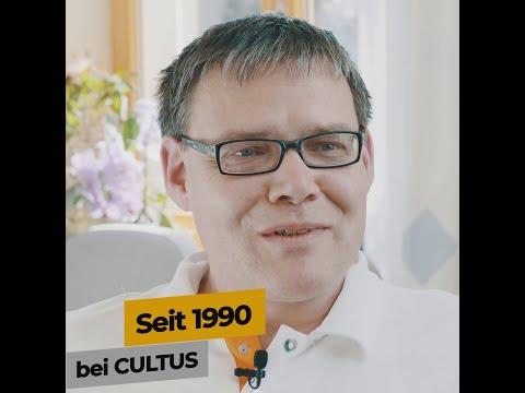 Michael Schwalbe arbeitet seit 1990 bei CULTUS in Dresden