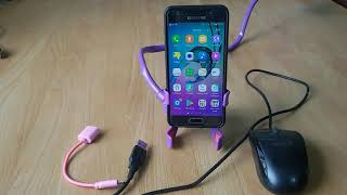 Samsung Galaxy OTG Test with USB Mouse | OTG Not Supported solution - OTG Not Working