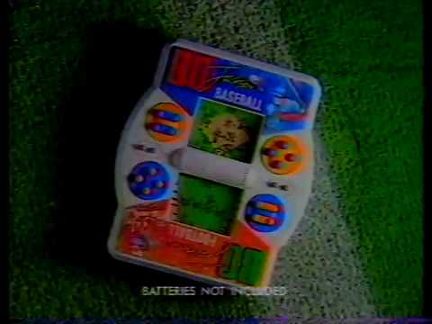 Tiger Electronics Handheld Game Bo Jackson Commercial 1990
