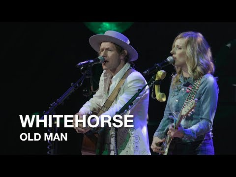 """Whitehorse covers """"Old Man"""" by Neil Young."""