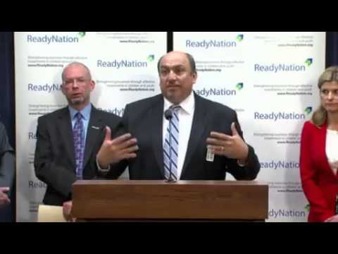 04 21 2015 ReadyNation Illinois Press Conference Skills Gap