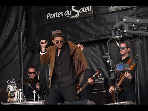 Ben l'Oncle Soul & Monophonics - Les Gets Rock the Pistes Festival 2014
