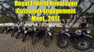Royal Enfield Himalayan Customer Engagement Meet 2017 | Old Footage | Read Description