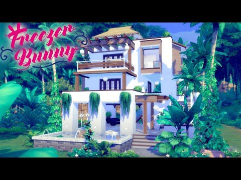 The Sims 4 | RAINFOREST VILLA | Speed Build - No CC (Jungle Adventure)