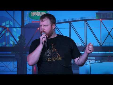 Portland's Funniest Person 2017 - Helium Comedy Club - Aaron Harleman