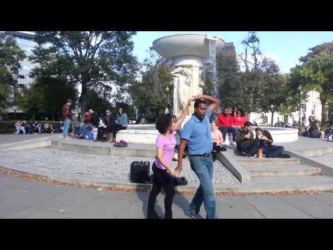 Cuban Casino dance in DuPont Circle, Washington DC
