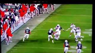 alabama vs auburn crazy last second play for the win auburn beats alabama