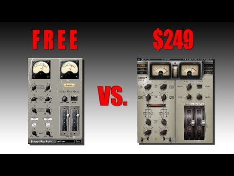 FREE VST Plugin vs. $249 VST Plugin