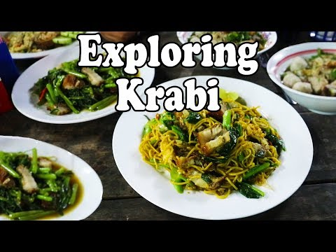 Krabi Thailand. Exploring Krabi: Ao Namao. Awesome Restaurants, A Great Resort And Thai Street Food