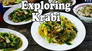Krabi Thailand. Exploring Krabi: Ao Namao. Awesome Restaurants, a Great Resort and Thai Street Food