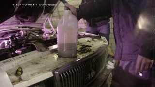 Промывка печки ГАЗ 3102