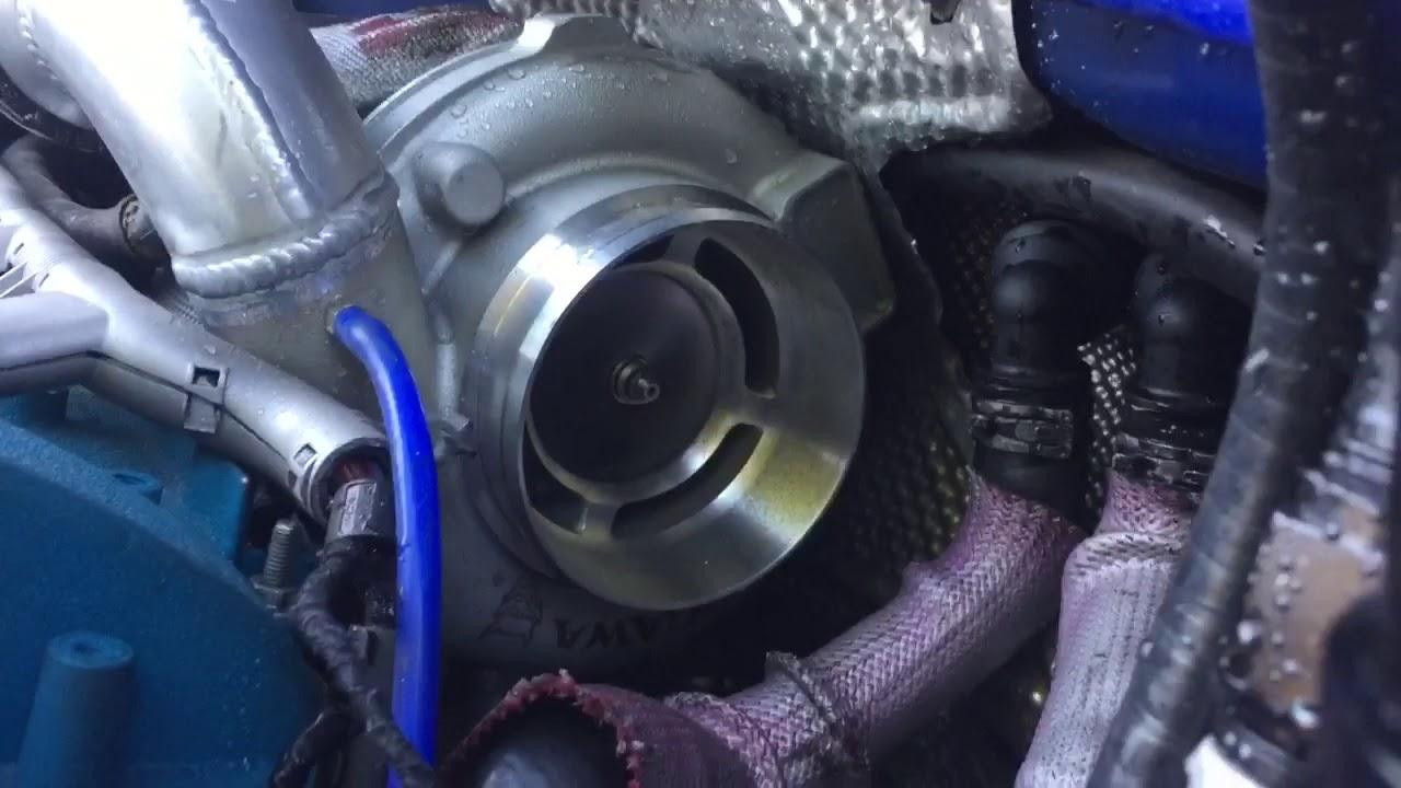 Gtx3076r kinugawa turbo spin down - YouTube