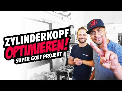 JP Performance - Optimize cylinder head! | Super Golf Project