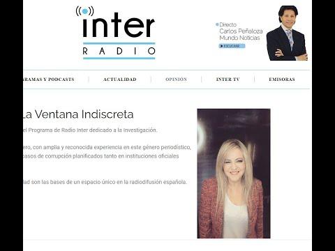 El expedienté Royuela sale a la luz en la Radio en la ventana indiscreta con María Montero
