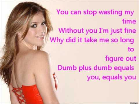 Kelly Clarkson-Einstein (Lyrics)