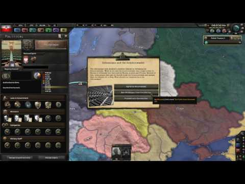 HOI4: Kaiserreich - How to create the Polish-Lithuanian Commonwealth