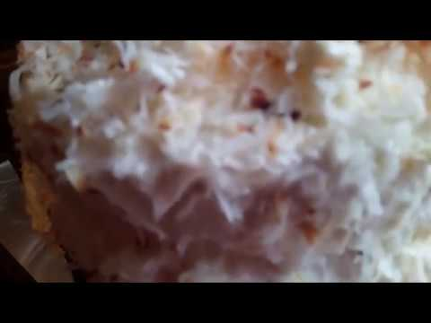 Pineapple Coconut / Three Layer Cake / Southern Cooking