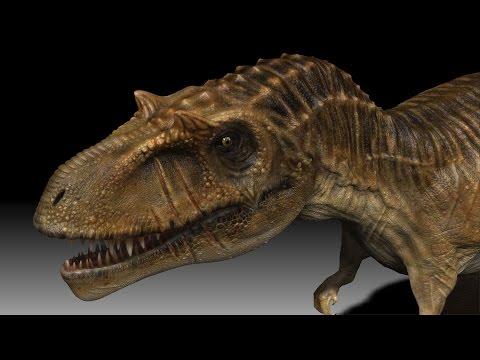 Lo que no conocías de un Albertosaurus