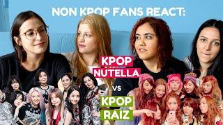 NON KPOP FANS REACT: KPOP RAIZ VS KPOP NUTELA (GIRL'S GENERATION) - eng subs