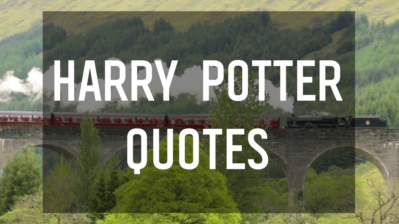Magical Quotes Magical Quotes From Harry Potterj.krowling  Youtube