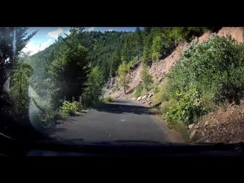 Fiesta ST Driving Dashcam - Seriously Twisty - Wahtum Lake Road