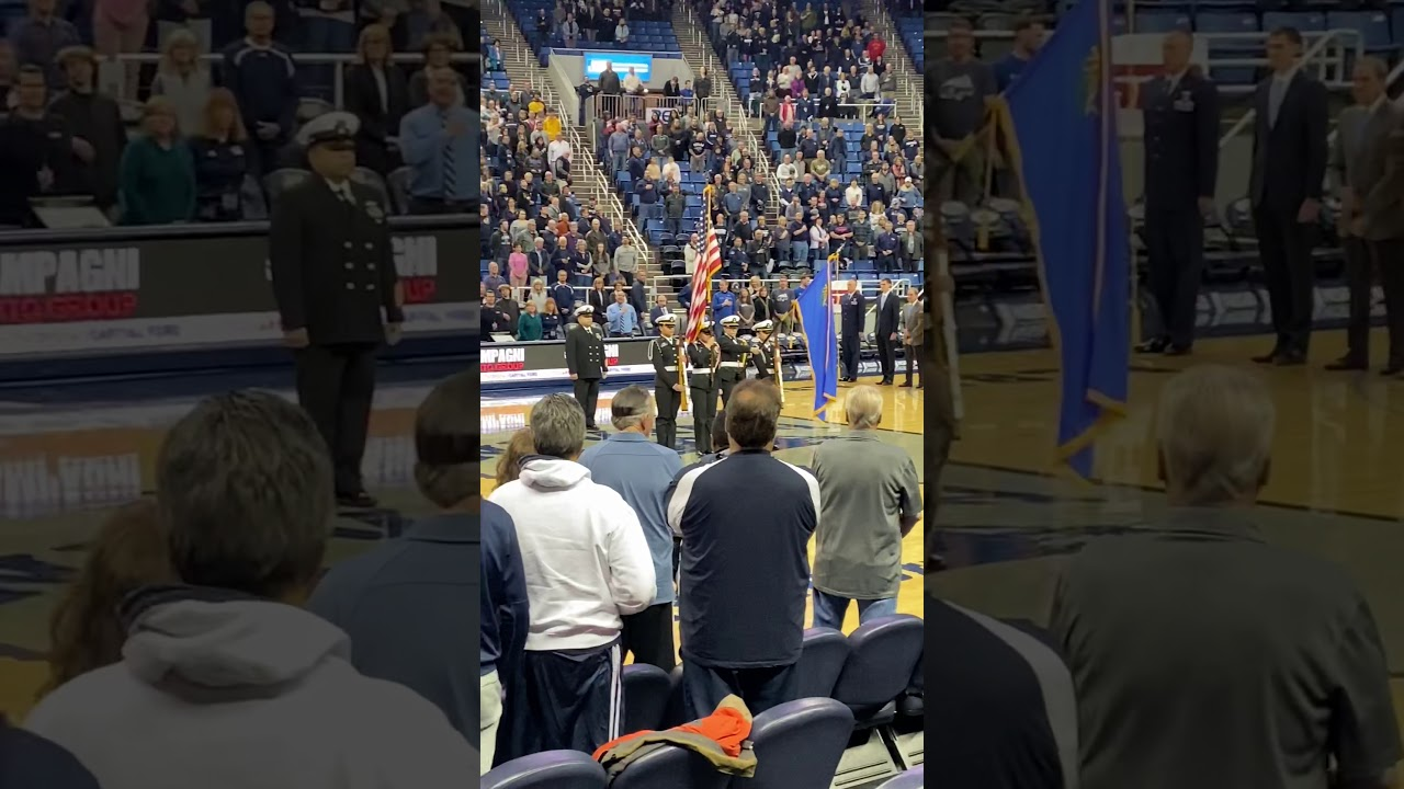 I got invited to sing the national anthem during UNR vs ...