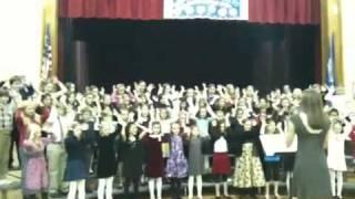 Riverside school chorus reindeer boogie