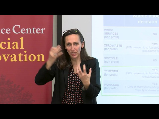 Highlights from the Sol Price Center for Social Innovation's Speaker Series featuring Anne-Claire Pache. Watch the full version here: https://youtu.be/Cg5hyqzkDrw