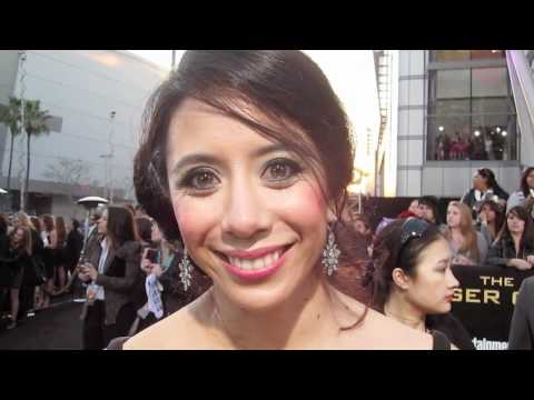 Tara Macken at THE HUNGER GAMES Premiere!