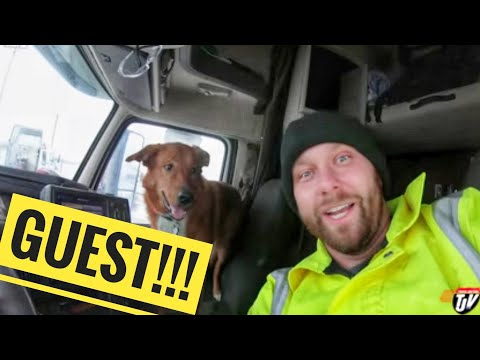 My Trucking Life - A SPECIAL GUEST - #1587