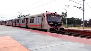 Lokal Train Departing from Nabadwip Dham Junction Esten Railway thumbnail