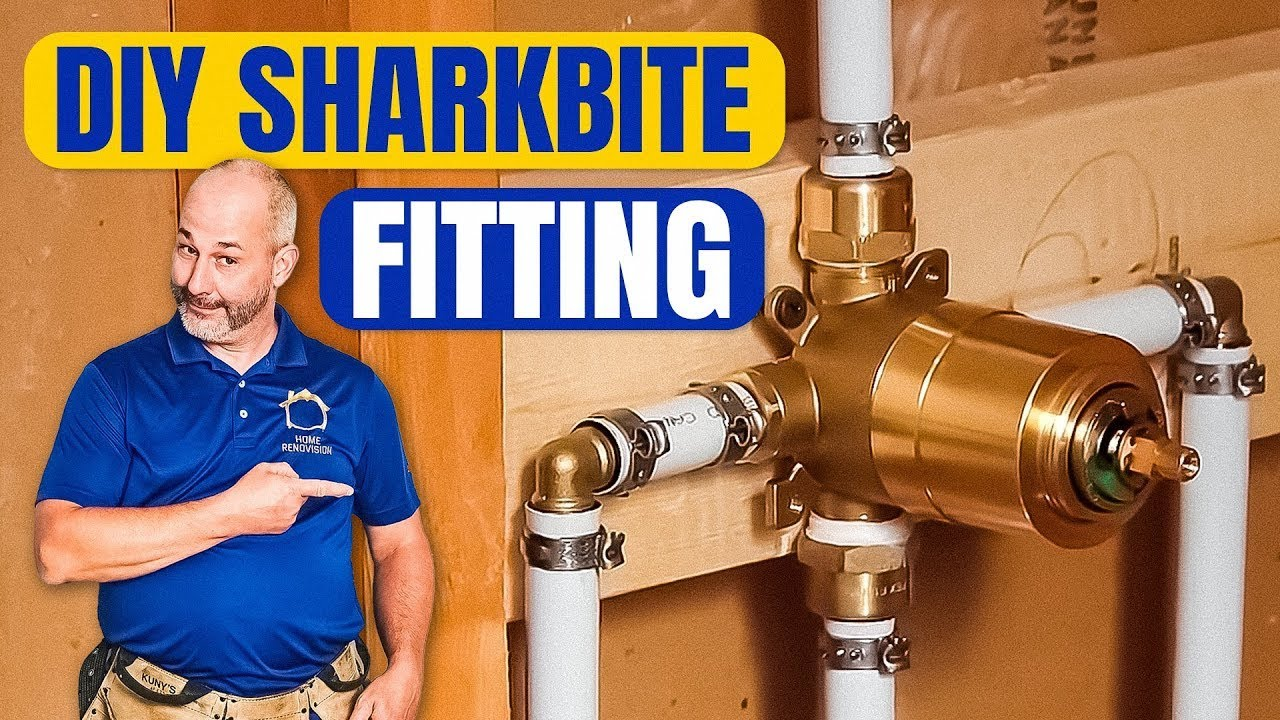 DIY How To Install Copper To Pex Shower and Bath Plumbing ...