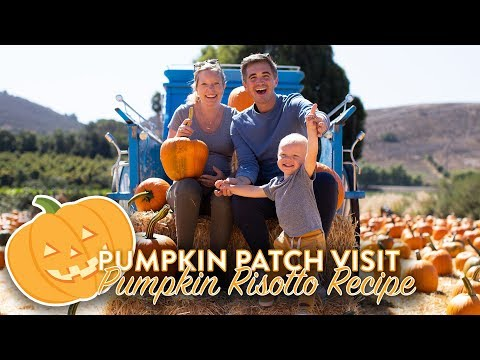 Pumpkin Patch Visit & Pumpkin Risotto!!