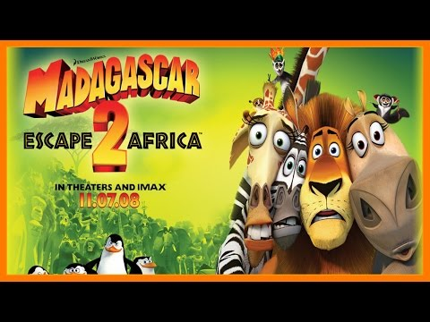 Madagascar 2 Escape to Africa - Madagascar Full Movie Based Game Part 1 - Madagascar