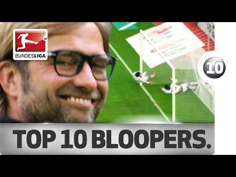 Top 10 bloopers - season 2013/14