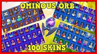 NEW 'OMINOUS ORB' BACKBLING On 100+ SKINS! (BEST BACKBLING?) | Fortnite Battle Royale!
