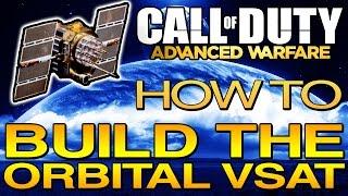 Gelişmiş Warfare Duty AW (Çağrı) | Kaos bir ''ORBİTAL VSAT'' nasıl