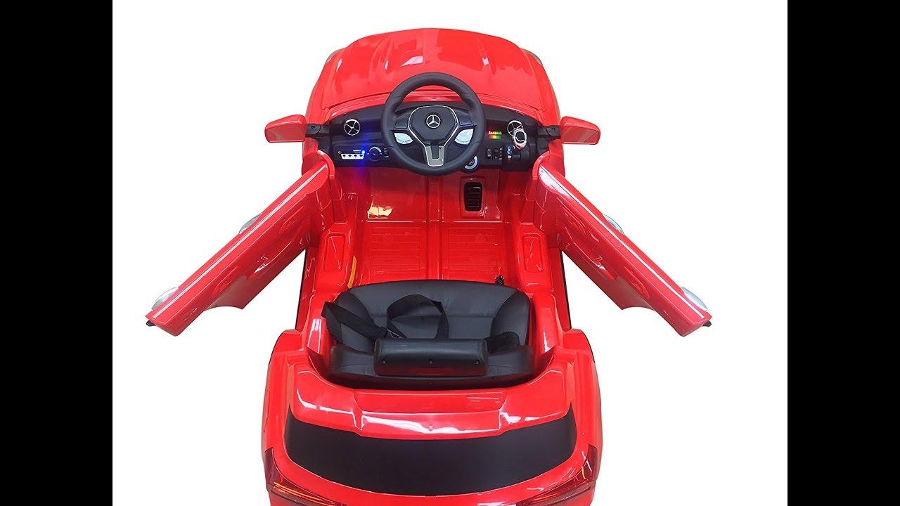 Mercedes GLA 12V Kids Ride On Battery Powered Wheels Car