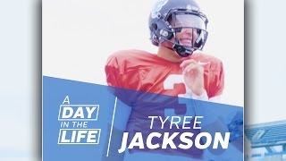 UB Football Day in the Life: Tyree Jackson